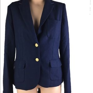 Vineyard Vines Blue Blazer Jacket Size 8